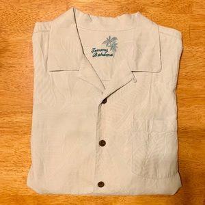 Tommy Bahama 100% silk LRG
